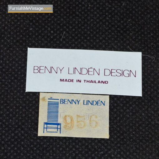 benny linden dining chairs teak