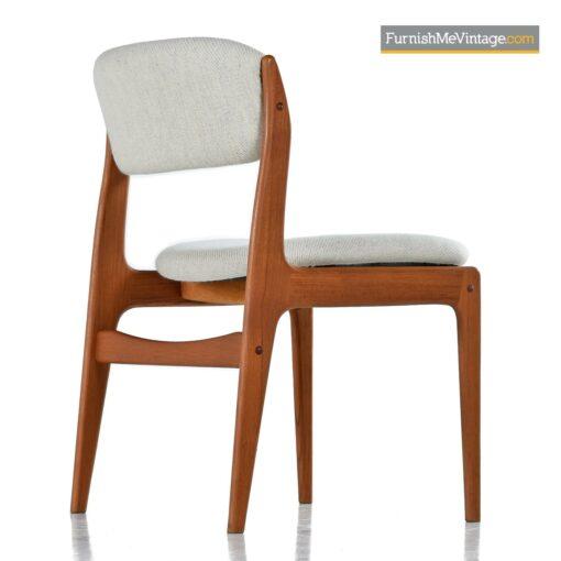 benny linden teak danish chairs