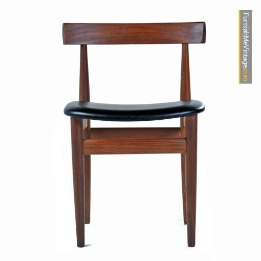 hans olsen roundette teak chairs