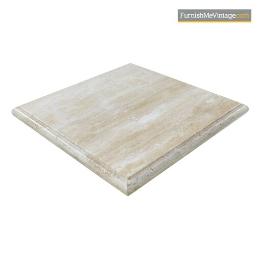 modern stone travertine coffee table