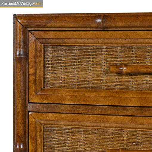 bamboo handle cane dresser