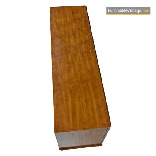 boho bamboo rattan dresser