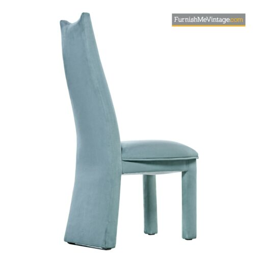 microfiber highback parsons dining chair