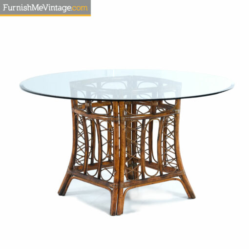 tommy bahama rattan table