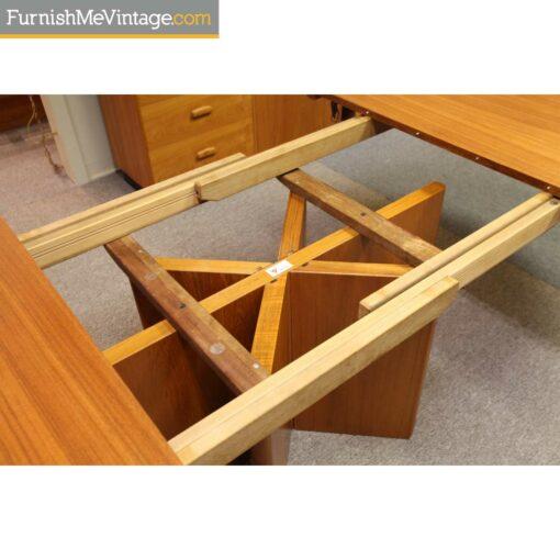 ansager danish oval teak table