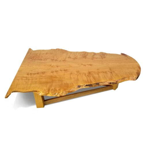 birdseye maple slab coffee-table