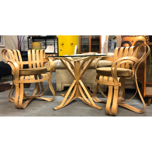 Frank Gehry Cross Check chairs for Knoll