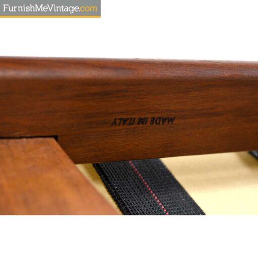 made in italy mid-century sofa