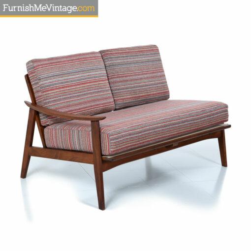 retro sectional sofa