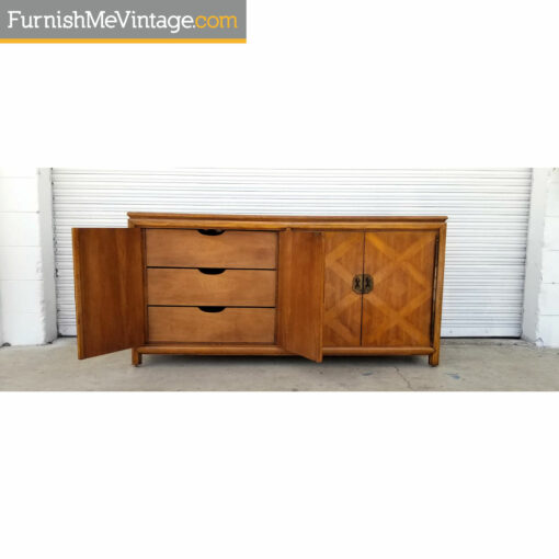 vintage buffet with drawers