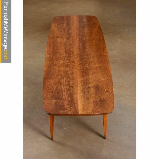 accent lane coffee table walnut