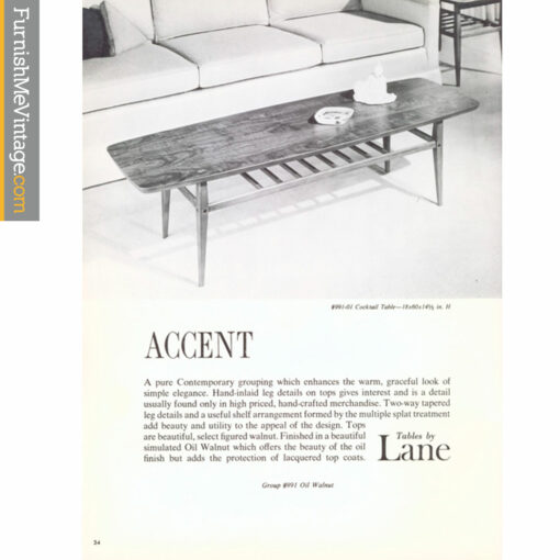 lane accent furniture advertisement