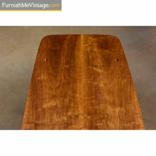 lane walnut coffee table
