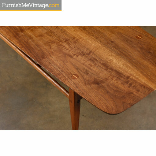 mid century modern lane coffee table