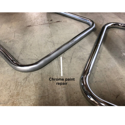 chrome chair base