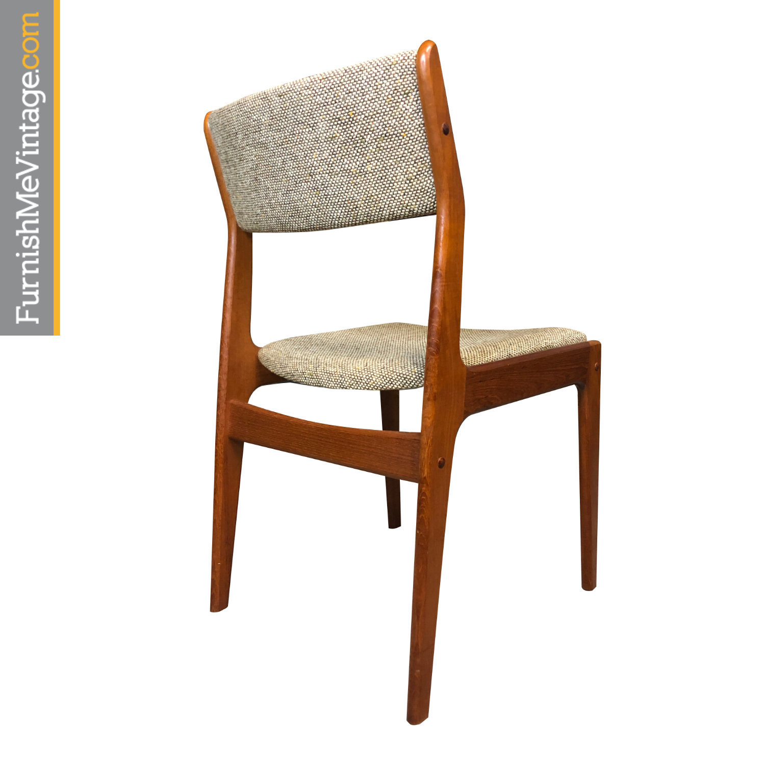Dixie Danish Teak Dining Chairs Set Of Six Modern Style