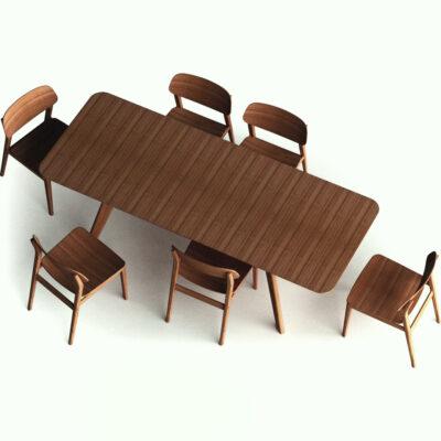 greenington currant dining set