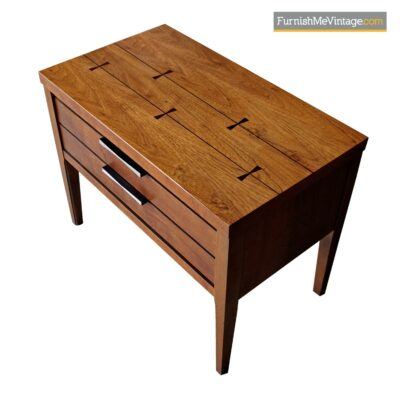 lane tuxedo nightstand end table