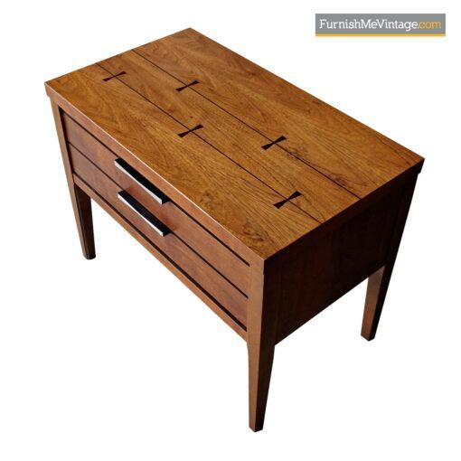 lane tuxedo nightstand end table