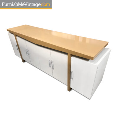 modern white entertainment center tv stand buffet
