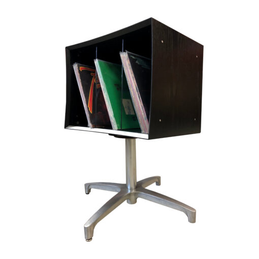 mid-century modern quadraspire record cabinet