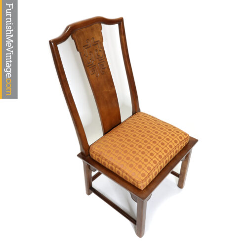 China Hua Chinese Oriental Dining Chairs by Century Furniture