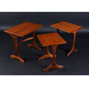 Early Mid-Century Modern Teak G Plan Nesting Tables