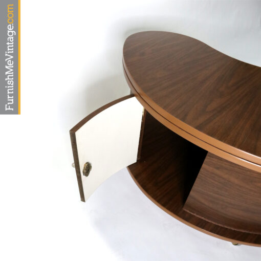 Mid-century modern Grand Server Bar Coffee Table by AH Stock