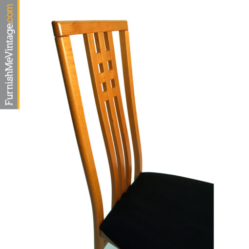 IMS Style Dining chairs Italy high back cherry wood