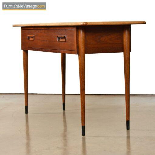 Mid-century modern Lane Acclaim sofa table console table desk