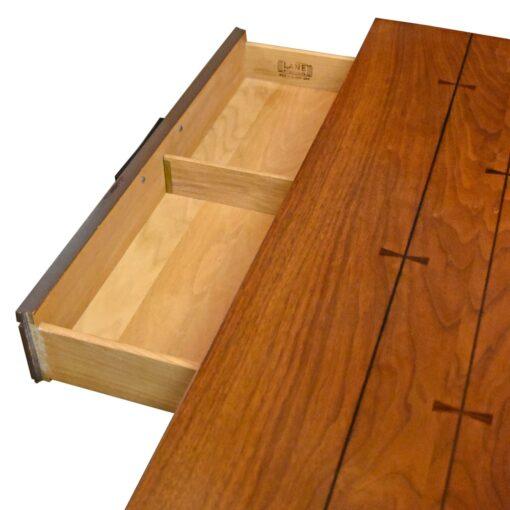 mid-century modern Lane Tuxedo Bow Tie Dresser