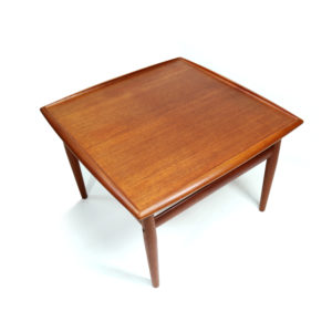 Grete Jalk For Glostrup Mobelfabrik Square Danish Teak Side Table