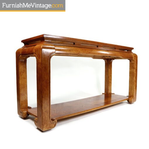 Asian Modern Chinese sofa table console