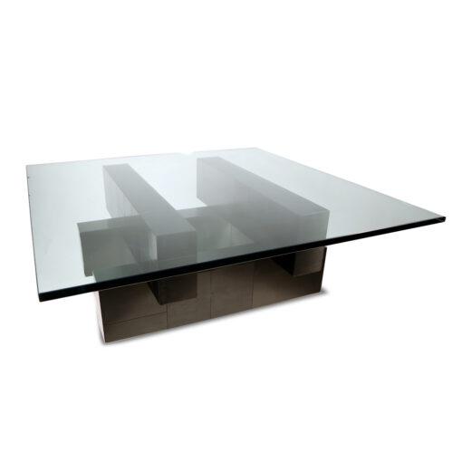 Paul Evans Black Cityscape coffee table