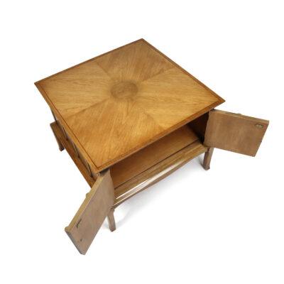 Thomasville Horizon Mid-century modern end table cabinet