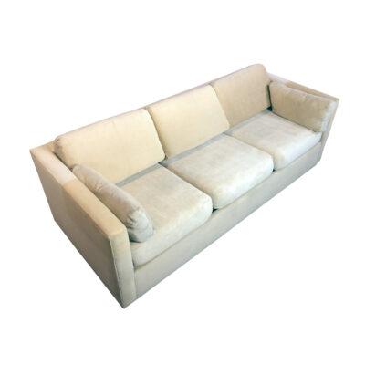 Vintage sofa sleeper mid-century modern 1970s