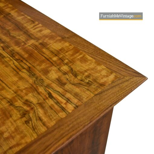 Large 8 feet long mahogany credenza mid-century modern