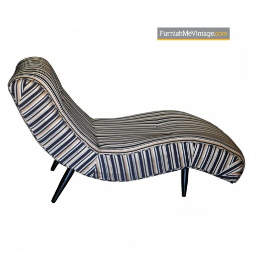 Adrian Pearsall Scoop wave chaise lounge