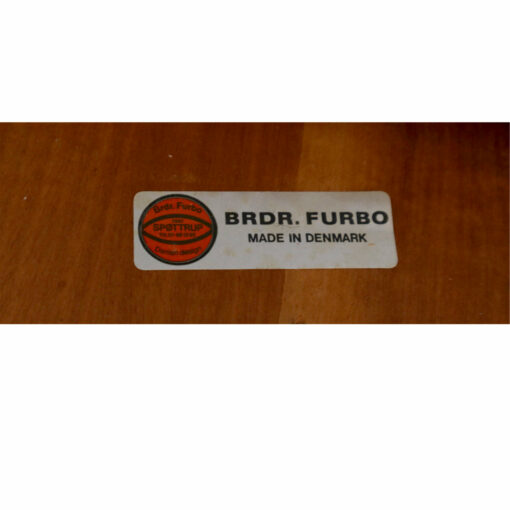 BRDR Furbo Danish teak expanding dining table