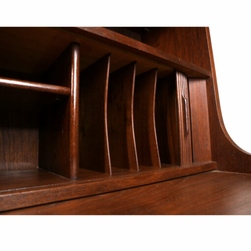 Borge Mogensen Danish teak bookcase secretary desk