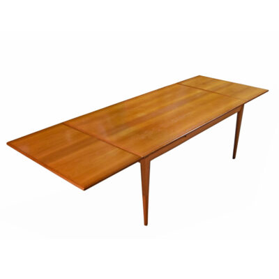 Niels Moller for J.L. Moller Expanding Danish Teak Dining Table