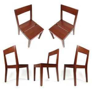Greenington Sustainable Solid Bamboo Hazel Dining Chairs