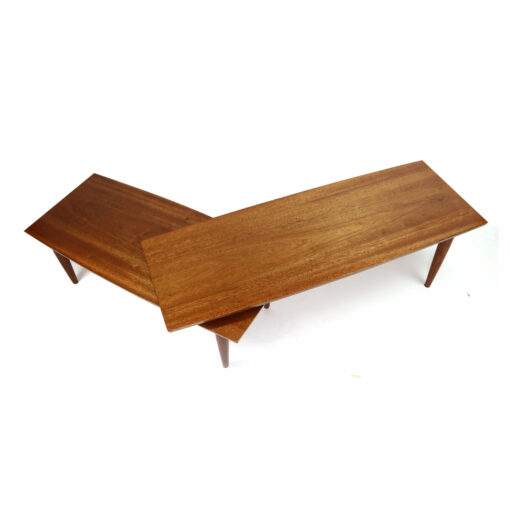 Pivotig Swivel mid-century modern boomerang coffee table