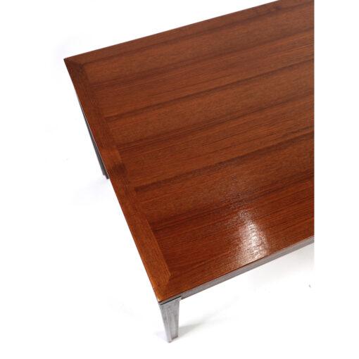 Rectangular Danish teak coffee table