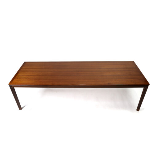 Rectangular Danish teak coffee table