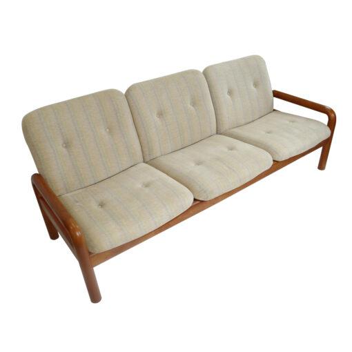 vDanish Modern DScan teak sofa