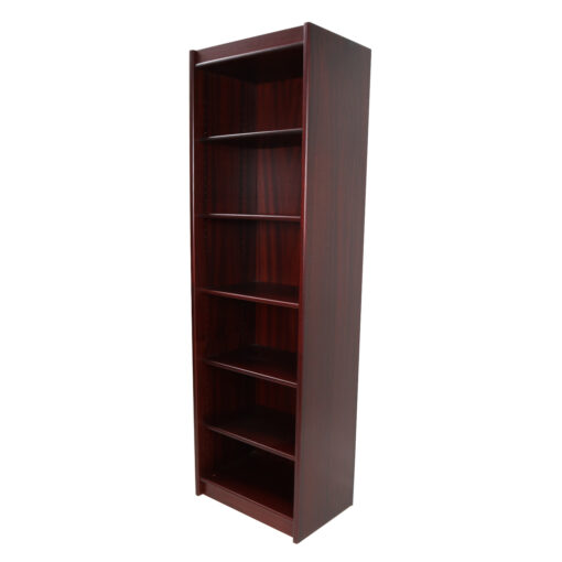 Danish rosewood narrow bookcase