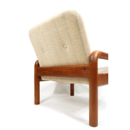 Solid teak Danish Armchair by DScan