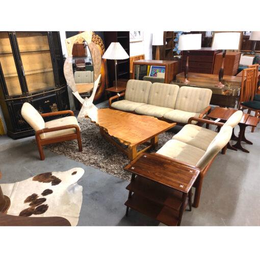 DScan Danish Modern teak living room set