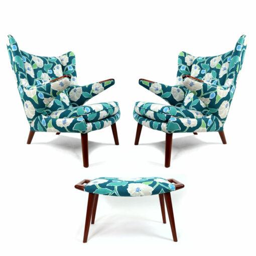 papa bear chairs and ottoman